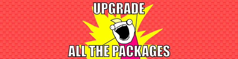 OpenWrt: upgrade all packages